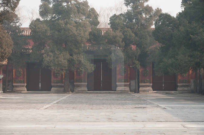 Forbidden City Gates