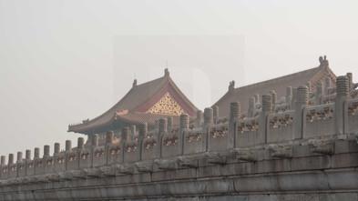 Forbidden City Railings