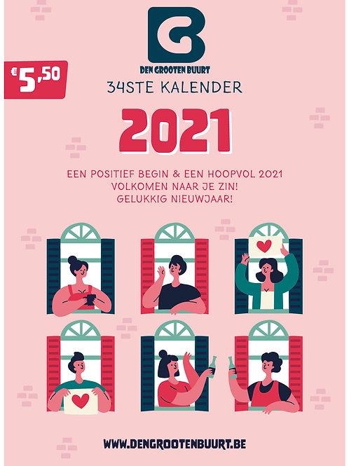 Den Grooten Buurt Kalender 2021