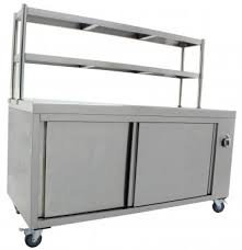 Electric XL Hot Cupboard with Double Warming Gantry