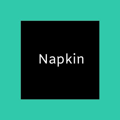 Black Napkin linen