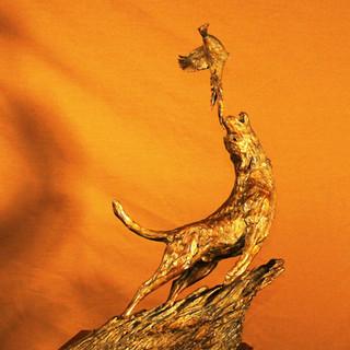 """Wild Fire"" Lab- pheasant"