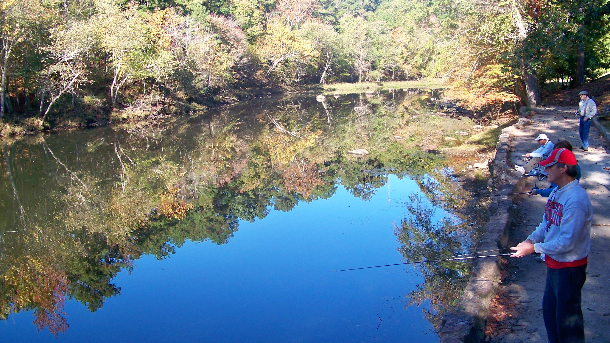 Fly fishing on the Little Missouri