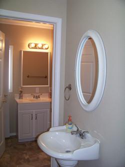 A jack and jill bathroom