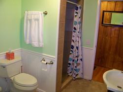 Nice tiled shower