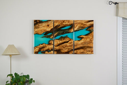 River Triptych