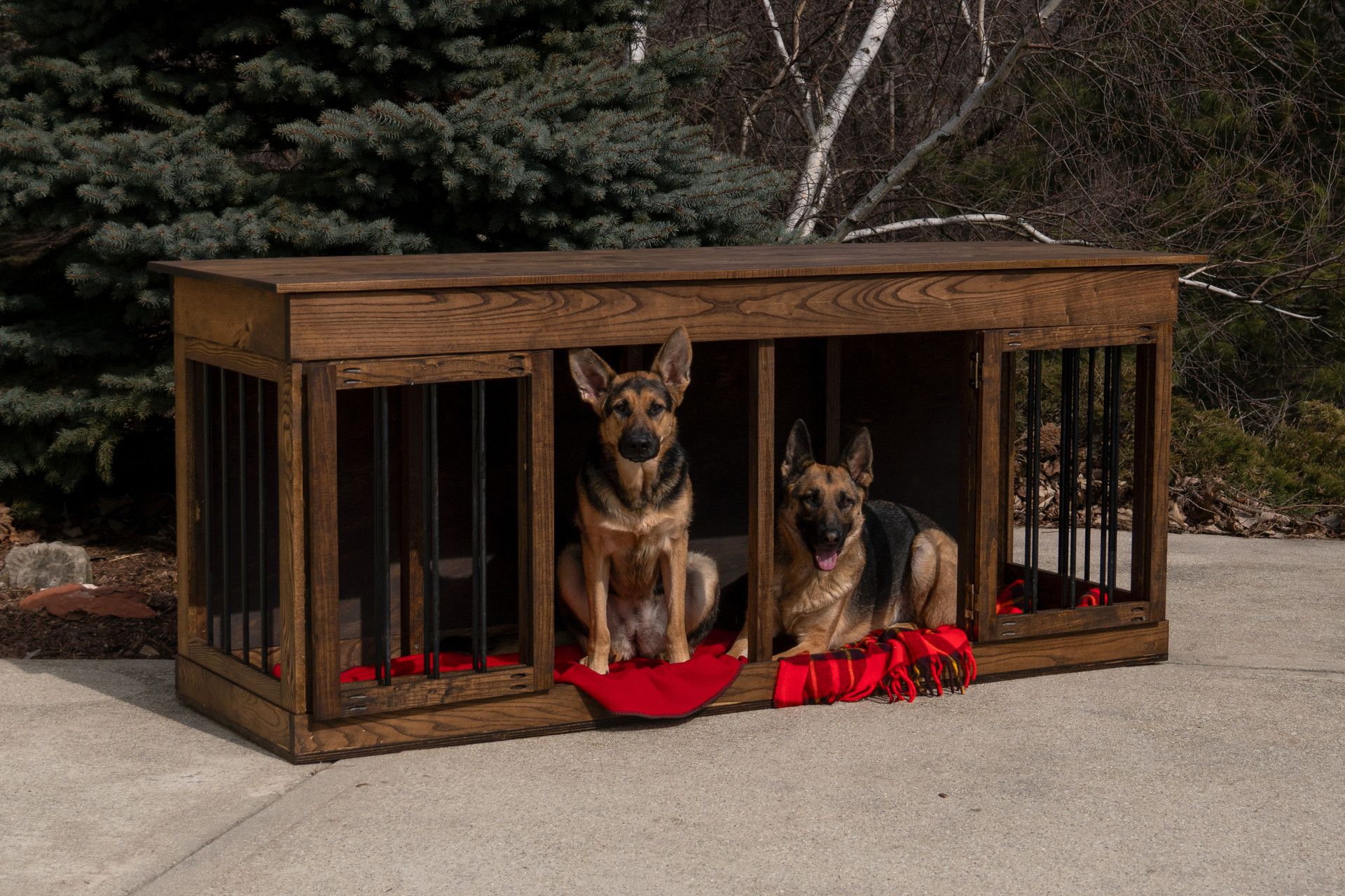 Duplex Dog Kennel