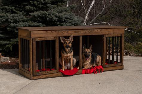 Duplex Dog Kennel