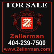 Zellerman for sale sign Atlanta realtor