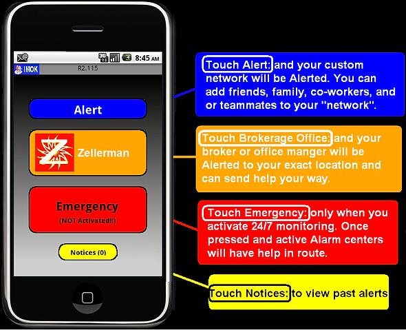 agent alarm realtor by zellerman