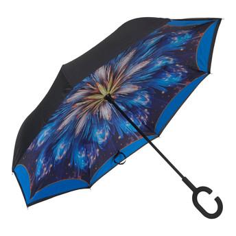 4009 BLUE FLOWER - BLACK