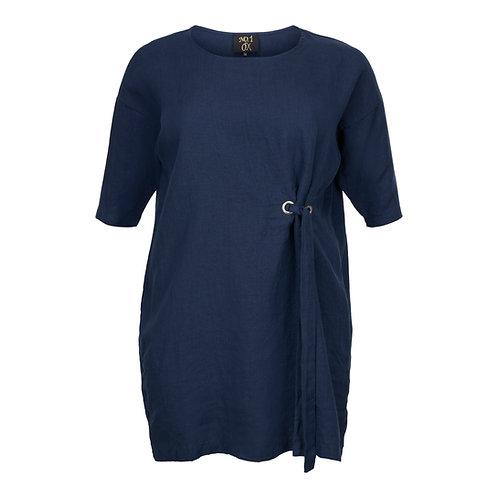 Linen bow tunic