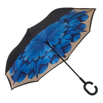 4009 BLUE FLOWER - WHITE