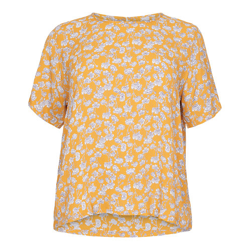 Yellow & white flower top
