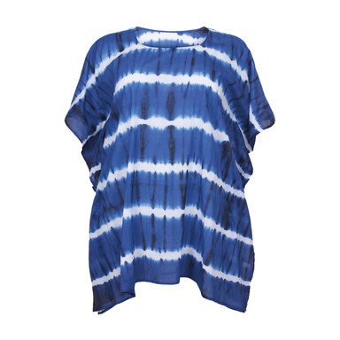 61619 BLUE WITH WHITE STRIPES