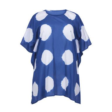 61619 BLUE WITH WHITE