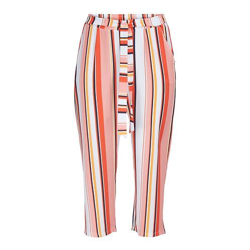 7/8 striped pants