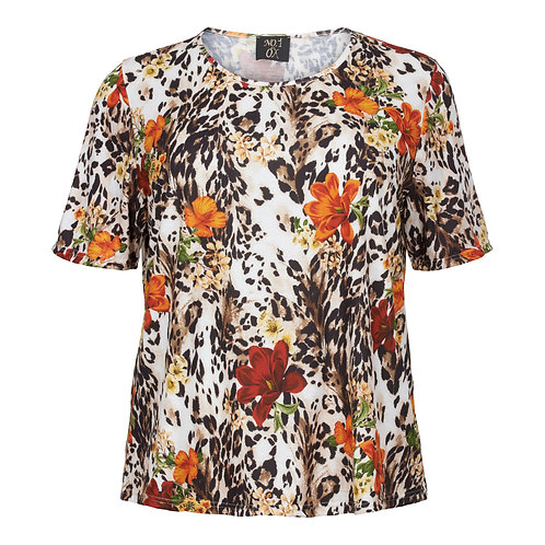 Animal & flower t-shirt