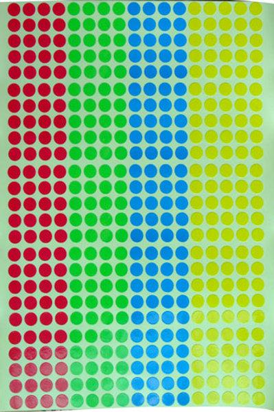 0.7公分圓形貼紙