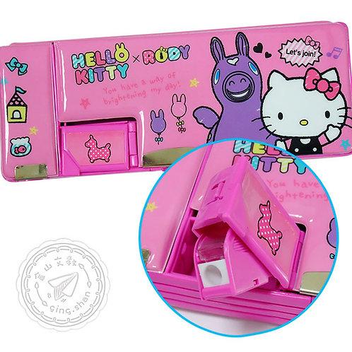 Kitty&Rody削筆磁扣筆盒