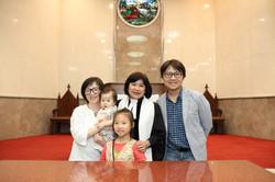 全家福|二女兒許樂受洗
