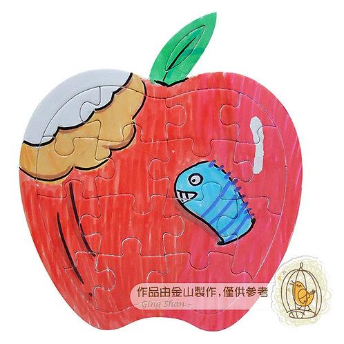 空白蘋果拼圖