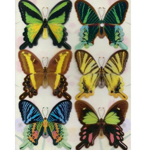 [編號: 60595-1 ]造型蝴蝶5卡