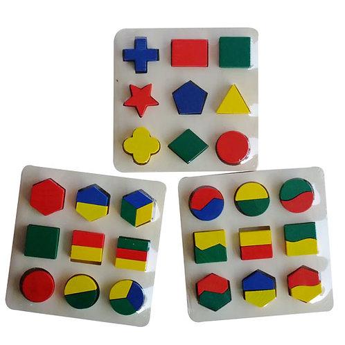 3款小形狀板