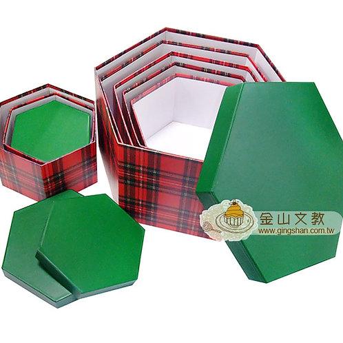 六層六角禮物盒