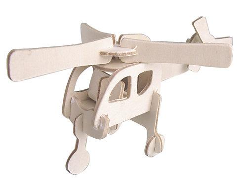DIY木頭直昇機