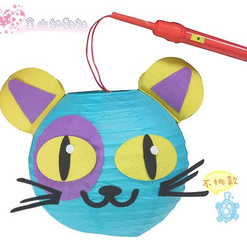 [編號: 31553-1 ]DIY動物燈籠(有燈把)