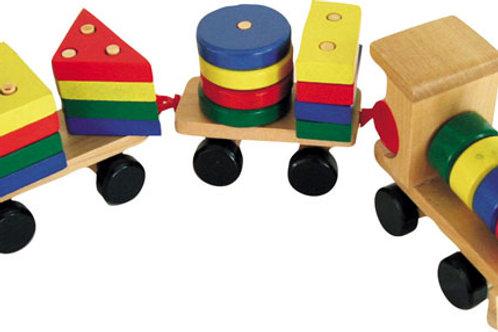形狀小火車