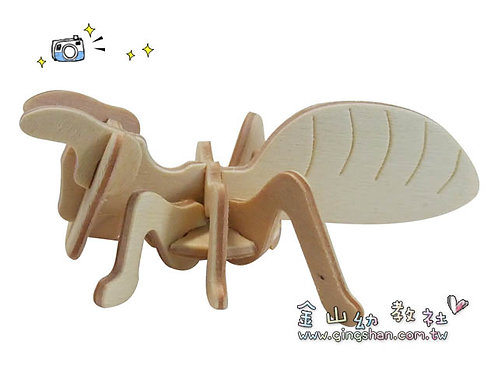 DIY木頭螞蟻5入
