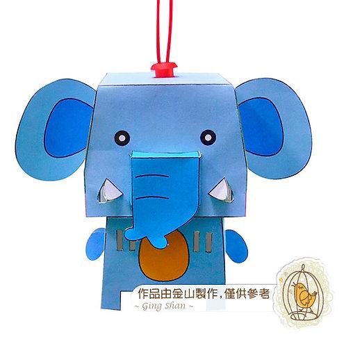 彩繪立體動物燈籠