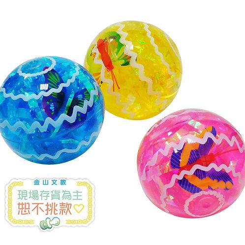七彩發光彈力球