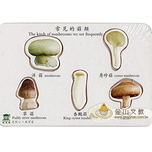 [編號: 40654-3 ] 菇類拼板5入