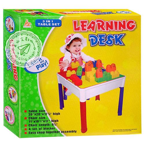 積木學習桌組