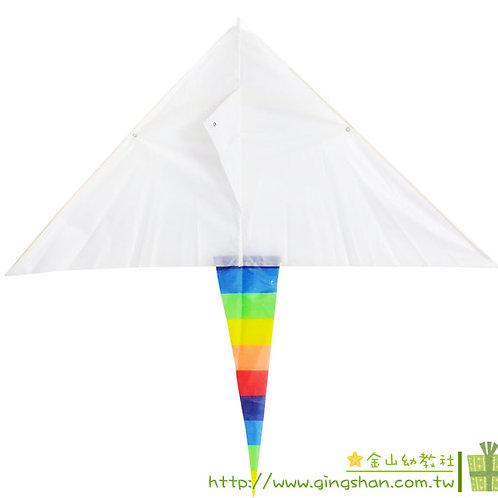 小尾巴白色風箏