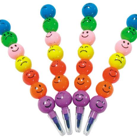 7節笑臉彩虹筆4入