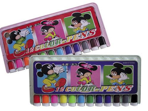 巧連盒12色彩色筆