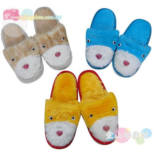 可愛絨毛室內拖鞋(小)