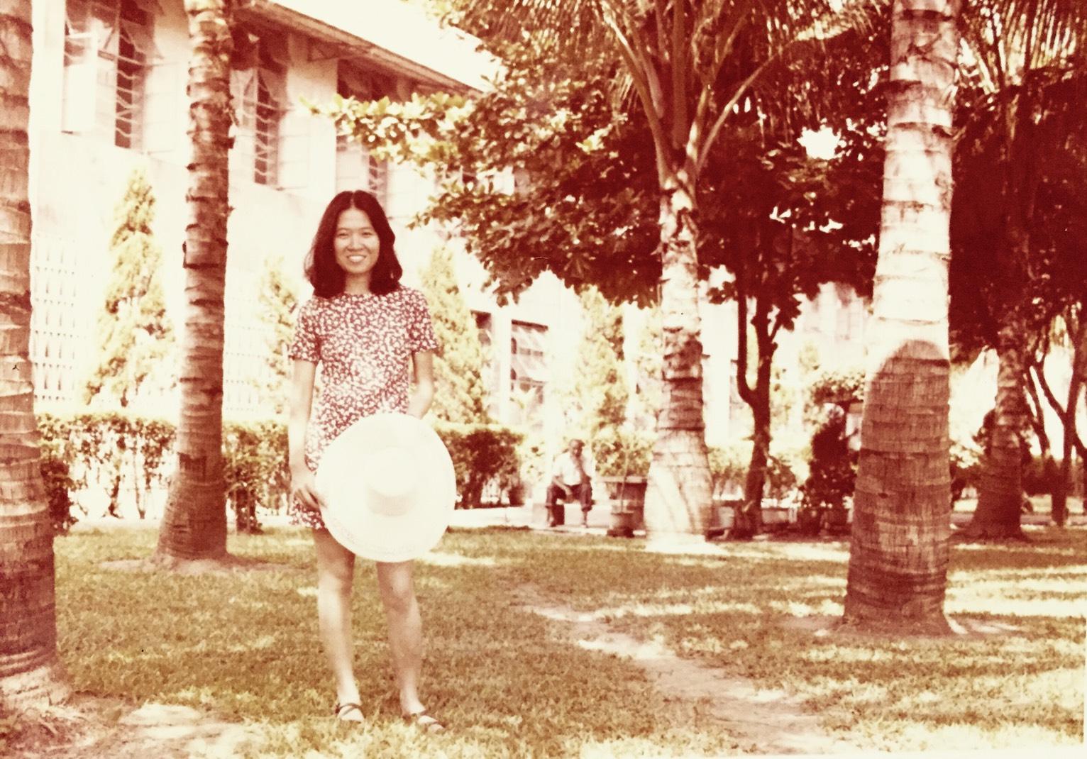 與父親熱戀的那一年,就讀淡江大學二年級的暑假