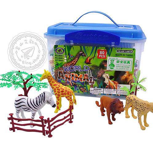 叢林動物模型