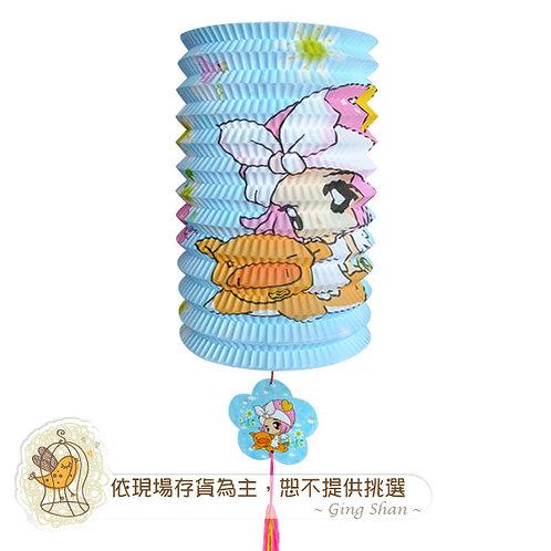 [編號: 60751-5 ]卡通圓柱燈籠(含燈把)