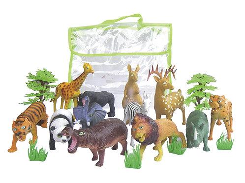 [編號: 20806-1 ]動物世界模型