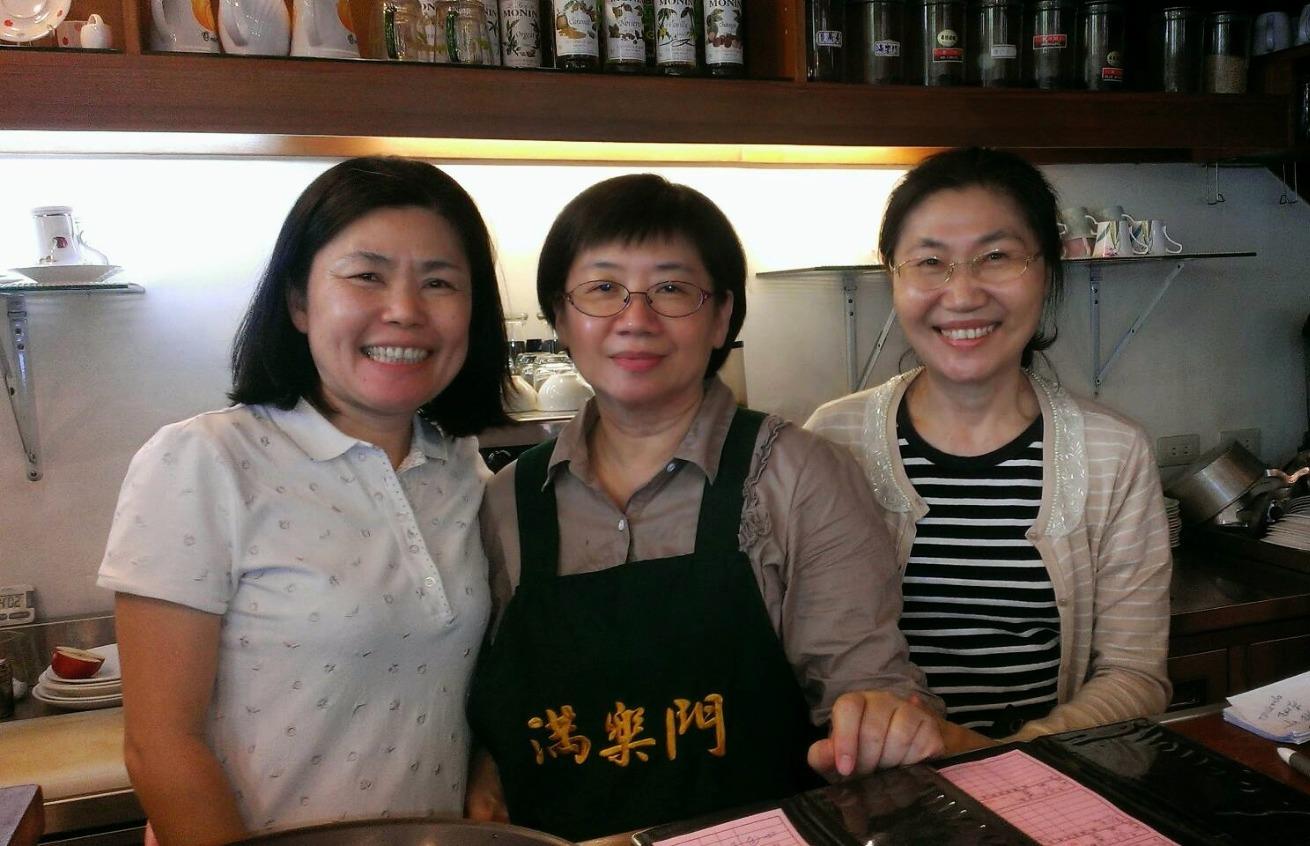 擔任台北滿樂門廚房助手