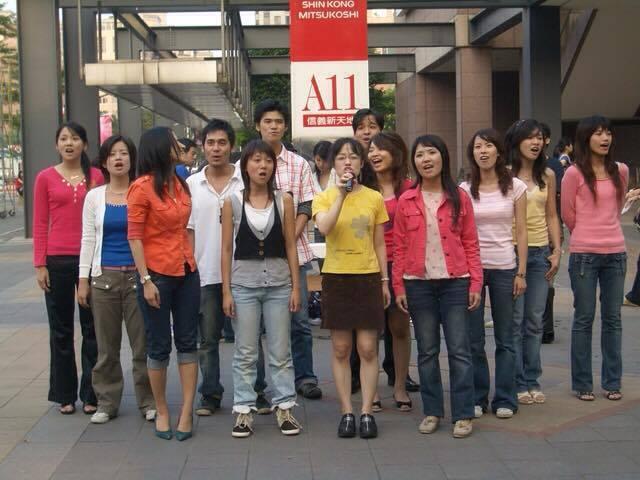 2006 夏日街頭藝人
