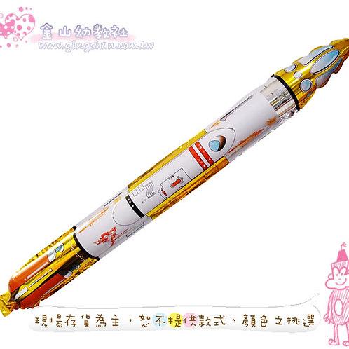 火箭鋁膜氣球5入