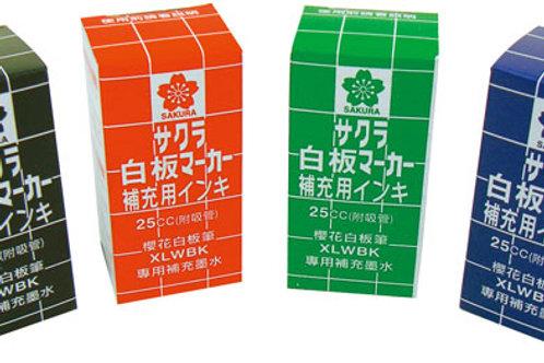 白板筆補充液/瓶 (請挑色)