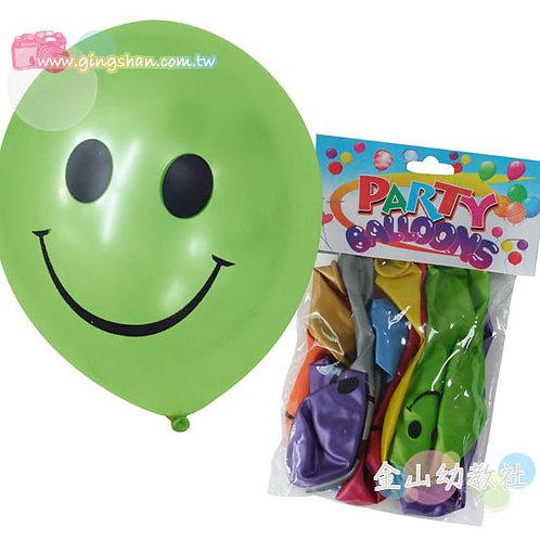 笑臉氣球12入